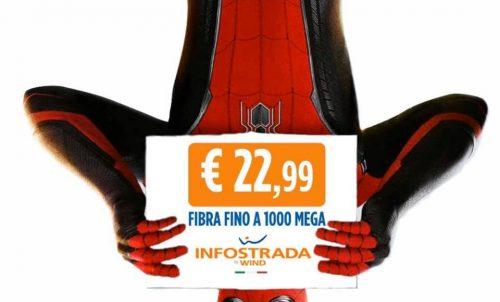 FIBRA 1000 a soli €22,99/mese